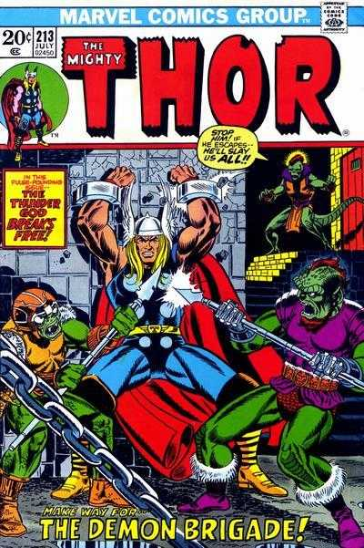 The Mighty Thor #213
