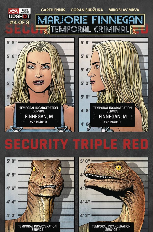 Marjorie Finnegan Temporal Criminal #4