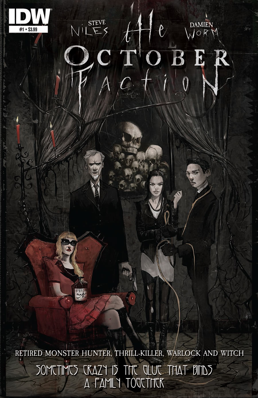The October Faction #1