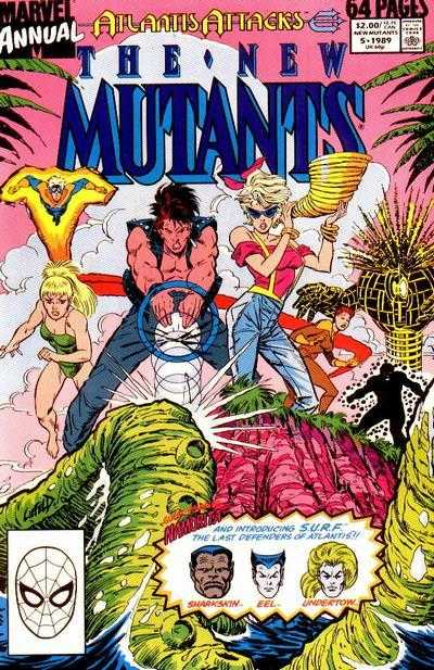 The New Mutants Annual #5