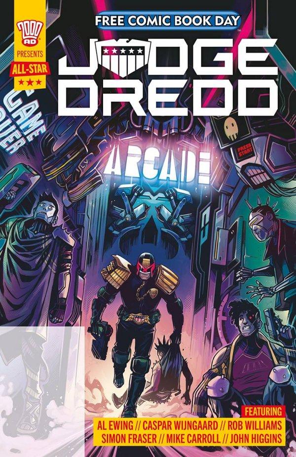 Free Comic Book Day 2021: Judge Dredd #1