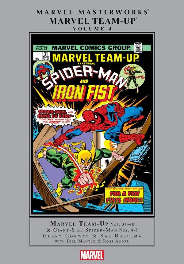 Marvel Masterworks: Marvel Team-up Vol. 4 HC