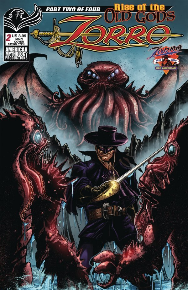 Zorro: Rise of the Old Gods #2