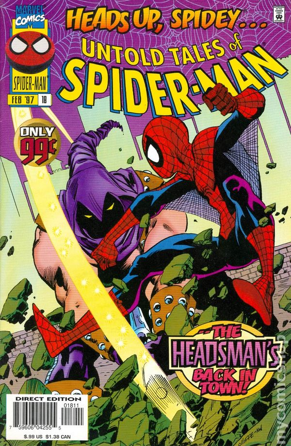 Untold Tales of Spider-Man #18