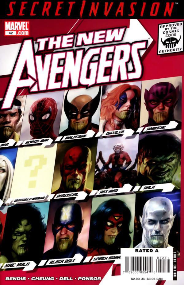 The New Avengers #42