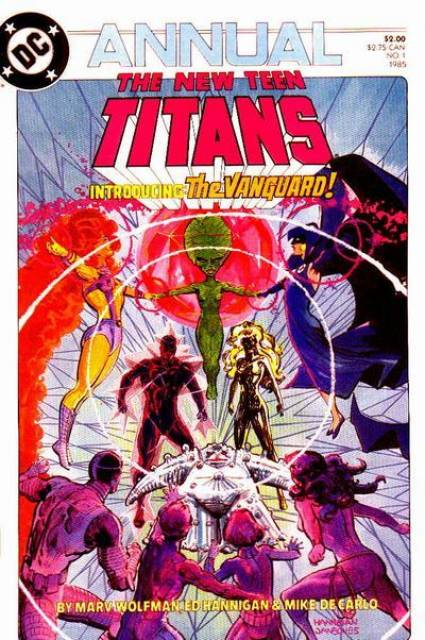 The New Teen Titans Annual #1