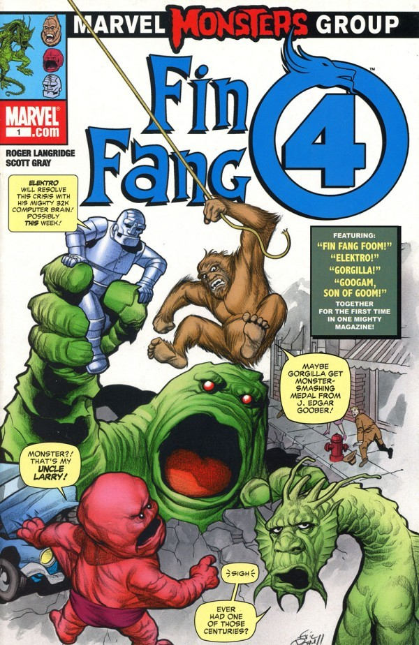 Marvel Monsters: Fin Fang Four #1