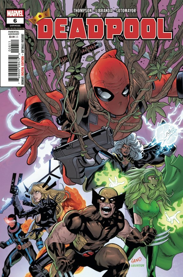 Deadpool Assassin #6 Christopher Variant Marvel VF//NM Comics Book