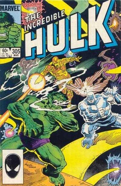 The Incredible Hulk #305