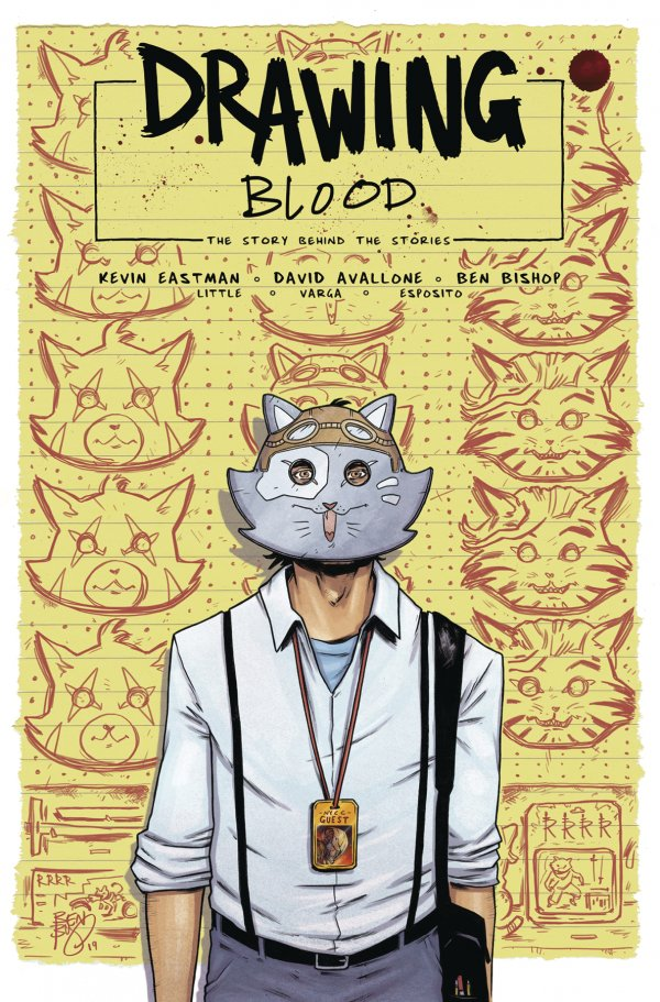 Drawing Blood Splilled Ink #4 review