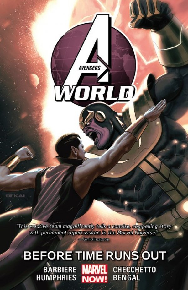 Avengers World Vol. 4: Before Time Runs Out TP