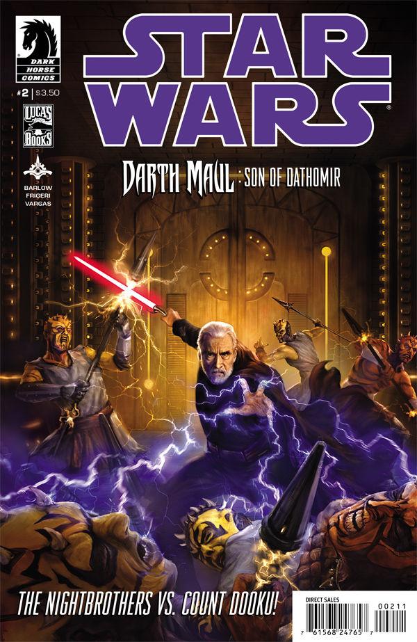 Star Wars: Darth Maul - Son of Dathomir #2