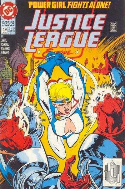 Justice League Europe #49