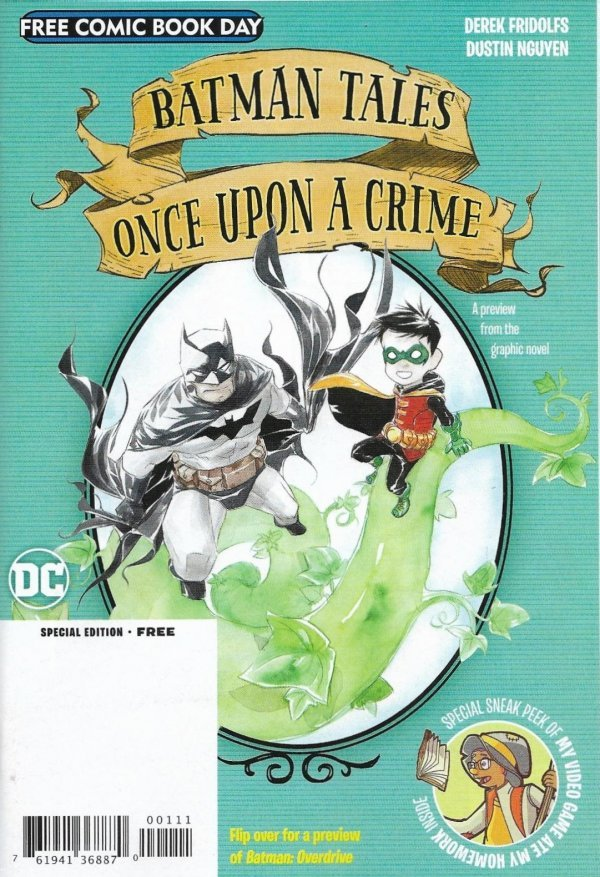 Free Comic Book Day 2020: Batman: Overdrive / Batman Tales: Once Upon A Crime Flipbook