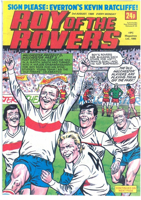 Roy of the Rovers #August 3rd, 1985