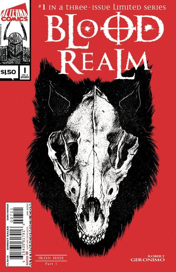 Blood Realm #1 2 3 Comic Book Set #1-3 Alterna Vol 1
