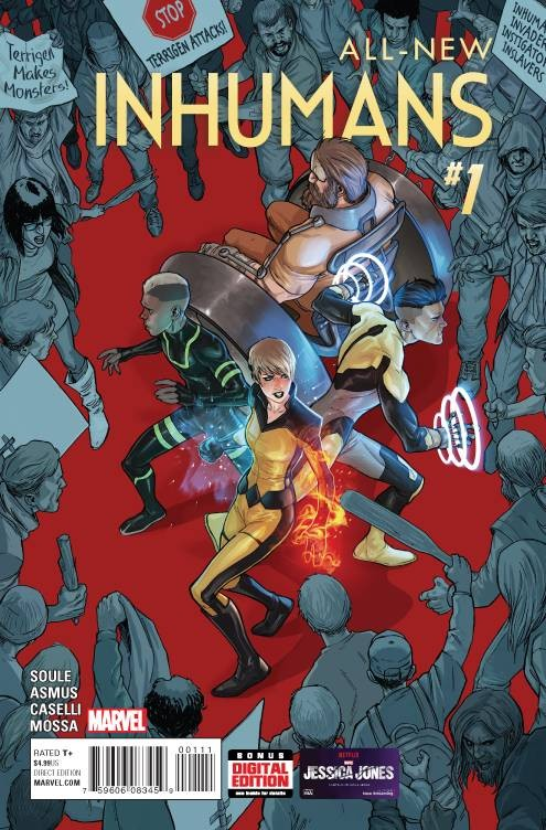 All-New Inhumans #1