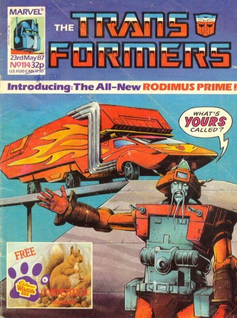 The Transformers #114