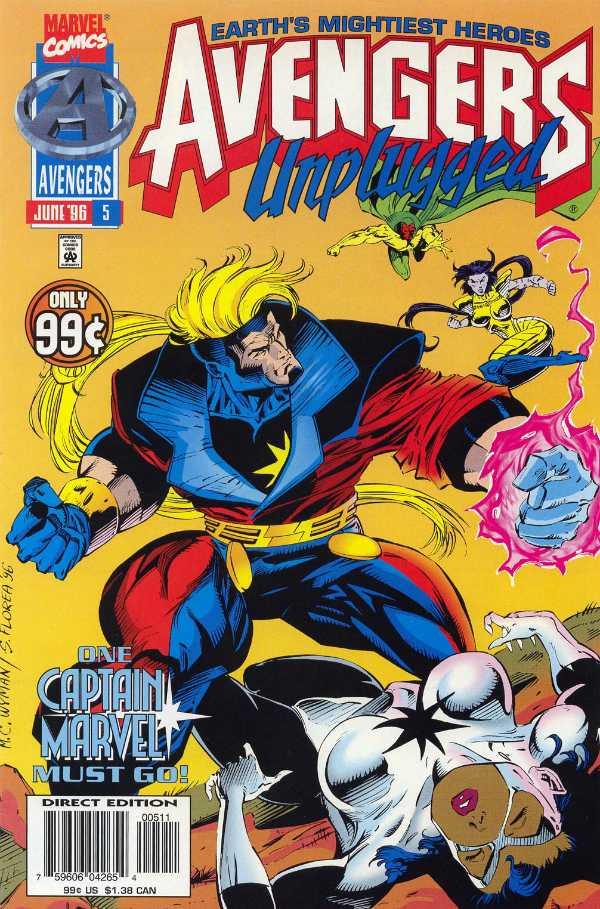 Avengers Unplugged #5