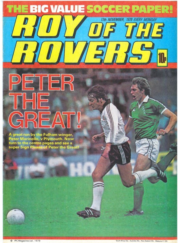 Roy of the Rovers #November 17th, 1979