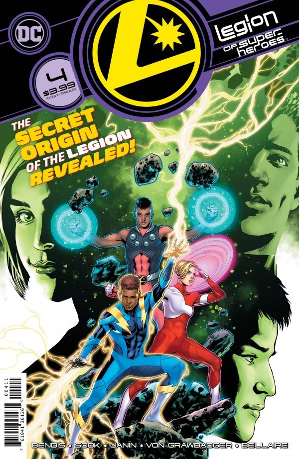 Legion of Super-Heroes #4 review