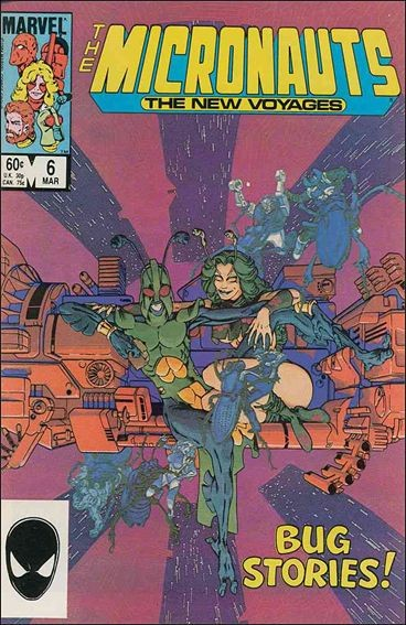 Micronauts: The New Voyages #6