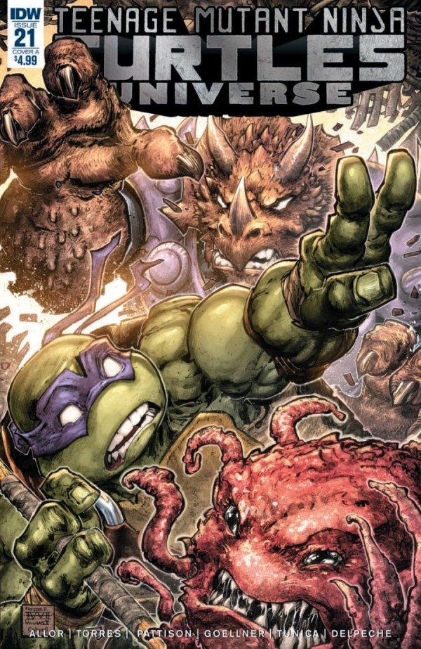 Teenage Mutant Ninja Turtles: Universe #21