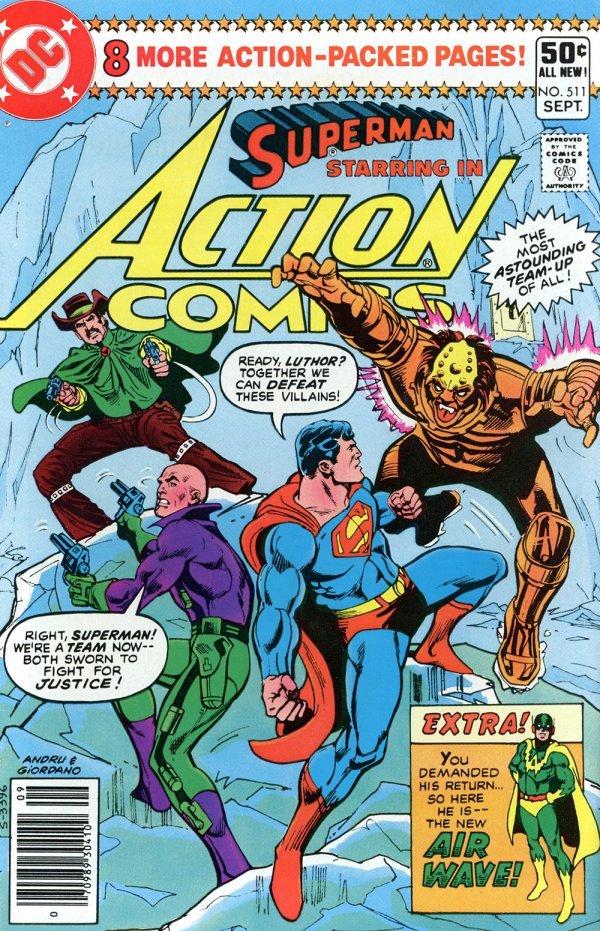 Action Comics #511