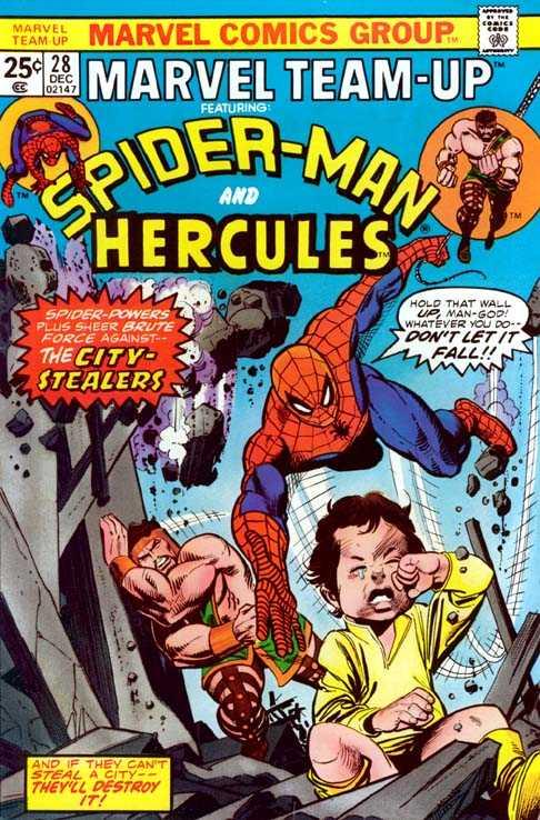 Marvel Team-Up #28