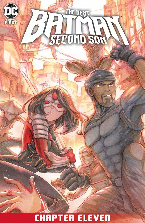 The Next Batman: Second Son Chapter #11