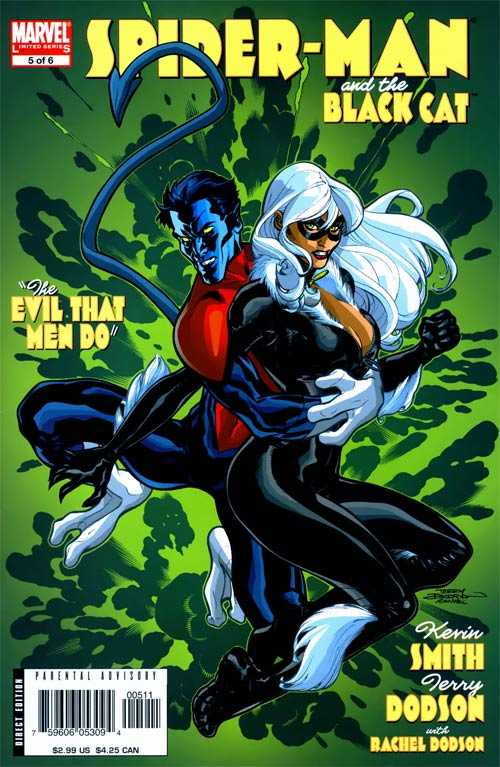 Spider-Man and the Black Cat: The Evil that Men Do #5