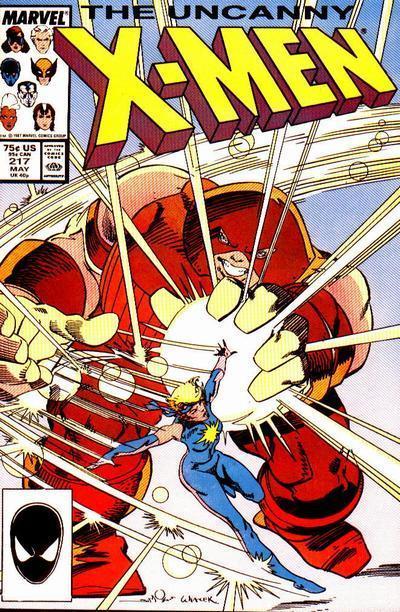 Uncanny X-Men #217