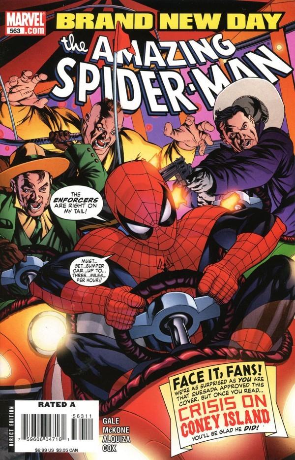The Amazing Spider-Man #563