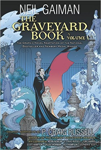 The Graveyard Book Graphic Novel Vol. 1 TP review