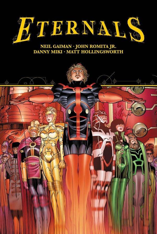 Eternals by Gaiman & Romita Jr. HC