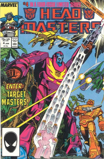 The Transformers: Head Masters #4