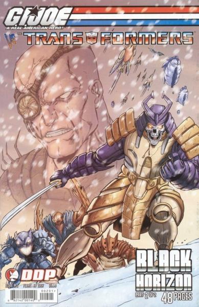 G.I. Joe vs. The Transformers: Black Horizon #2