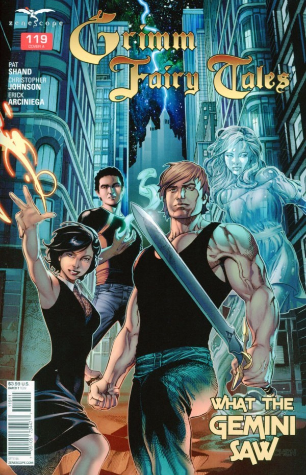 Grimm Fairy Tales #119