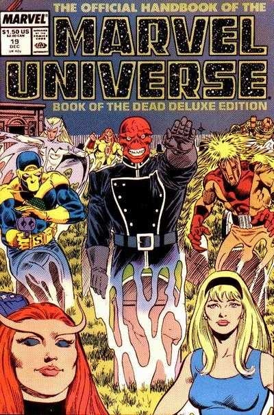 The Official Handbook of the Marvel Universe #19