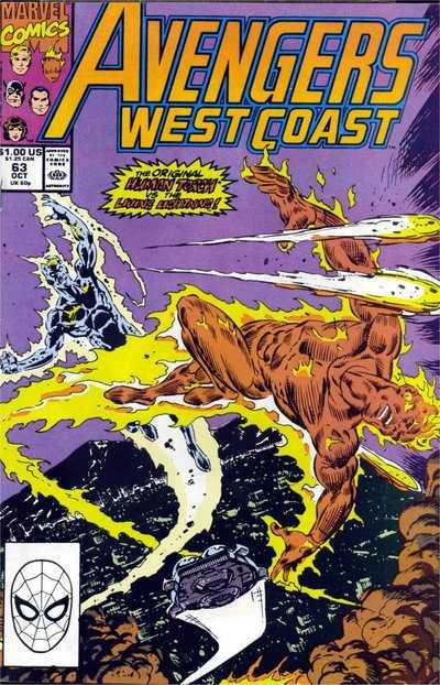 Avengers West Coast #63