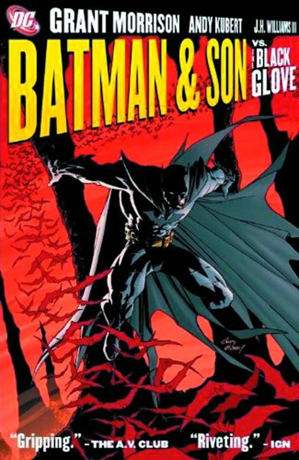 Batman & Son vs. the Black Glove HC