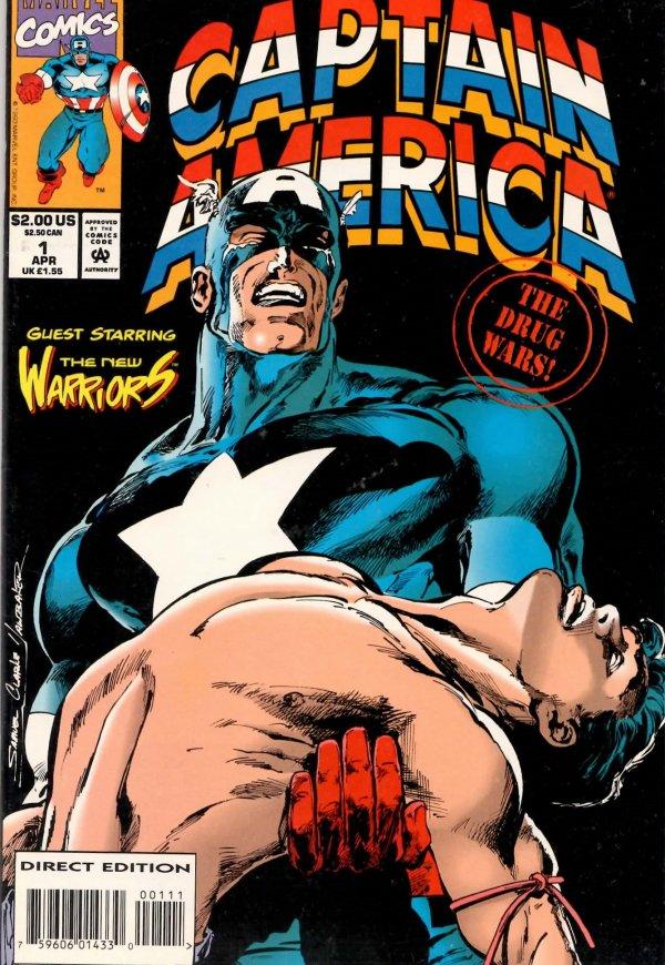 Captain America: Drug War #1