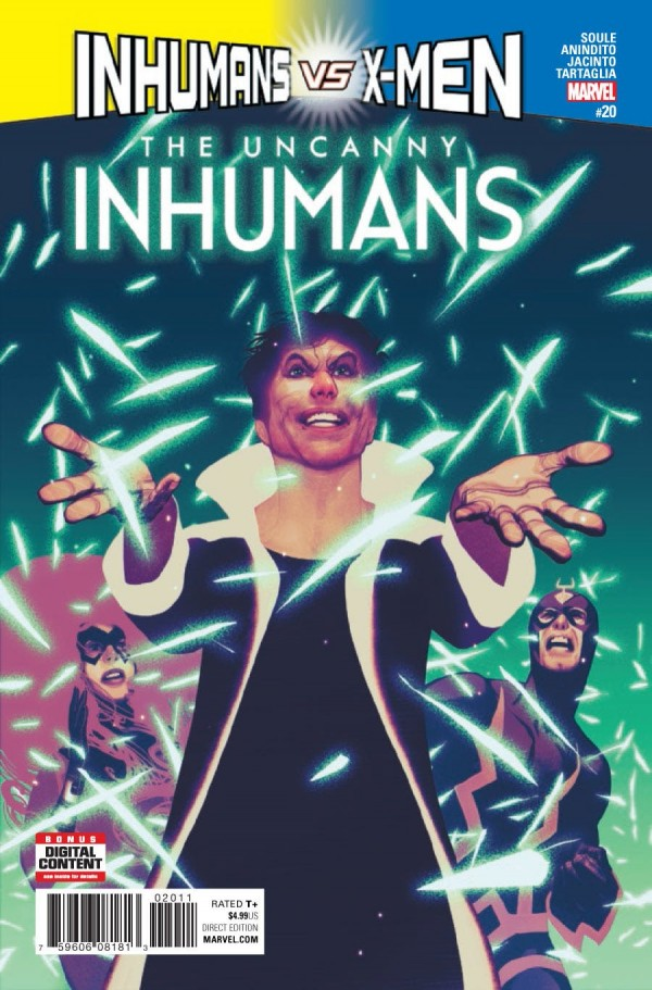 The Uncanny Inhumans #20