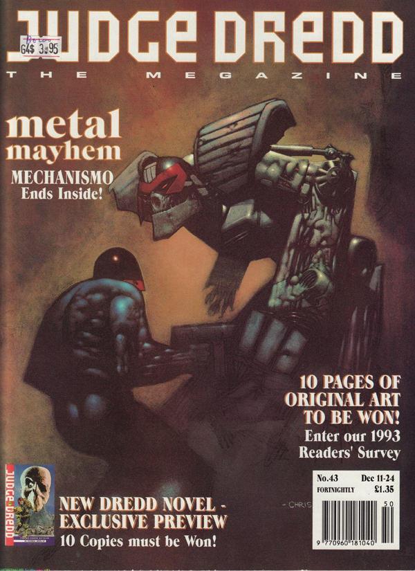 Judge Dredd: The Megazine #43