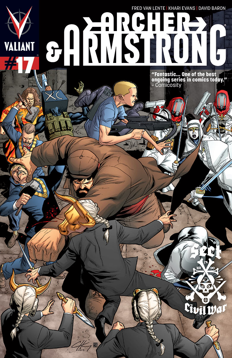 Archer & Armstrong #17