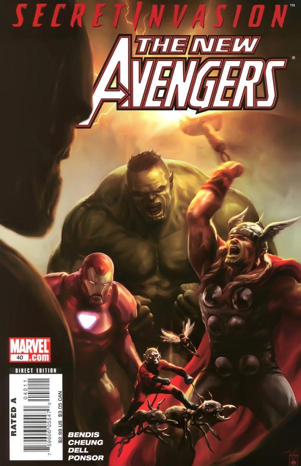 The New Avengers #40