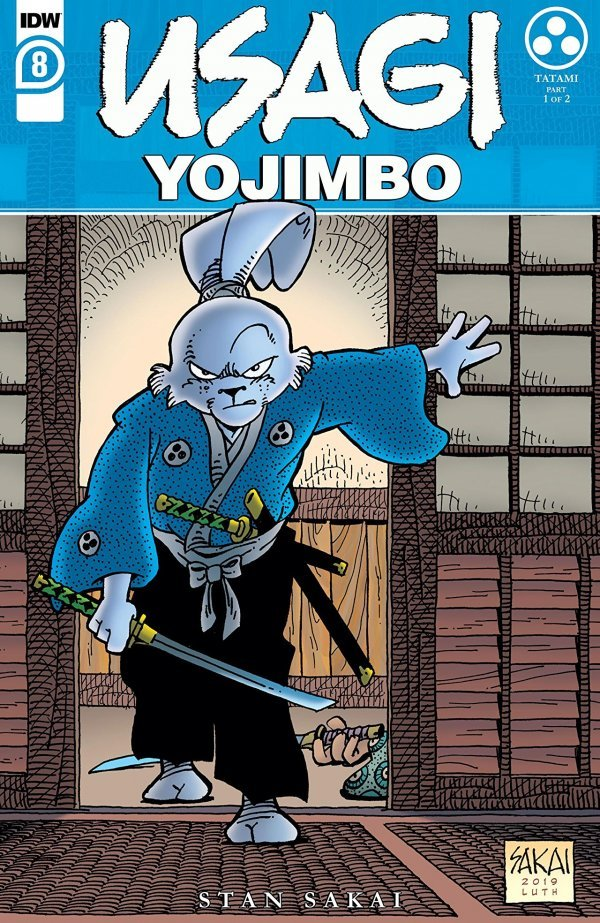 Usagi Yojimbo #8 review