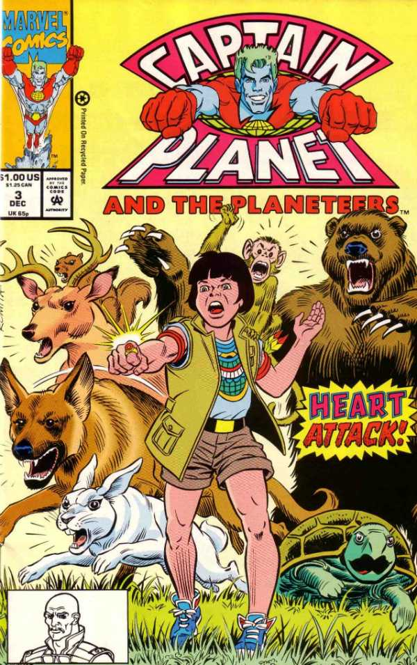 Captain Planet and the Planeteers #3