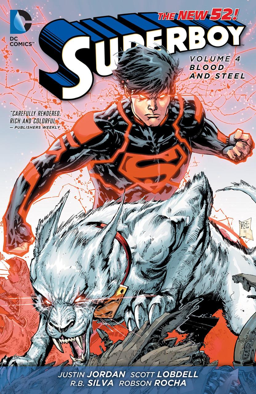 Superboy Vol. 4: Blood and Steel TP