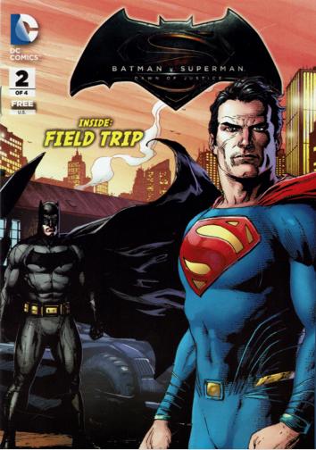 Batman V Superman: Dawn of Justice Prequel #2 Field Trip